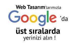 Google'da  Üst Sıralarda Yerinizi Alın